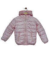 Grace Куртка 2-стороння для дівчинки 60525 р98-128 рожевий