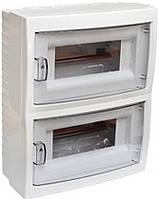 Бокс 16-и местный для открытой установки с дверцей, 267,7х212х104мм., [КНО-16Д], BYLECTRICA, (02-57-07) шт.