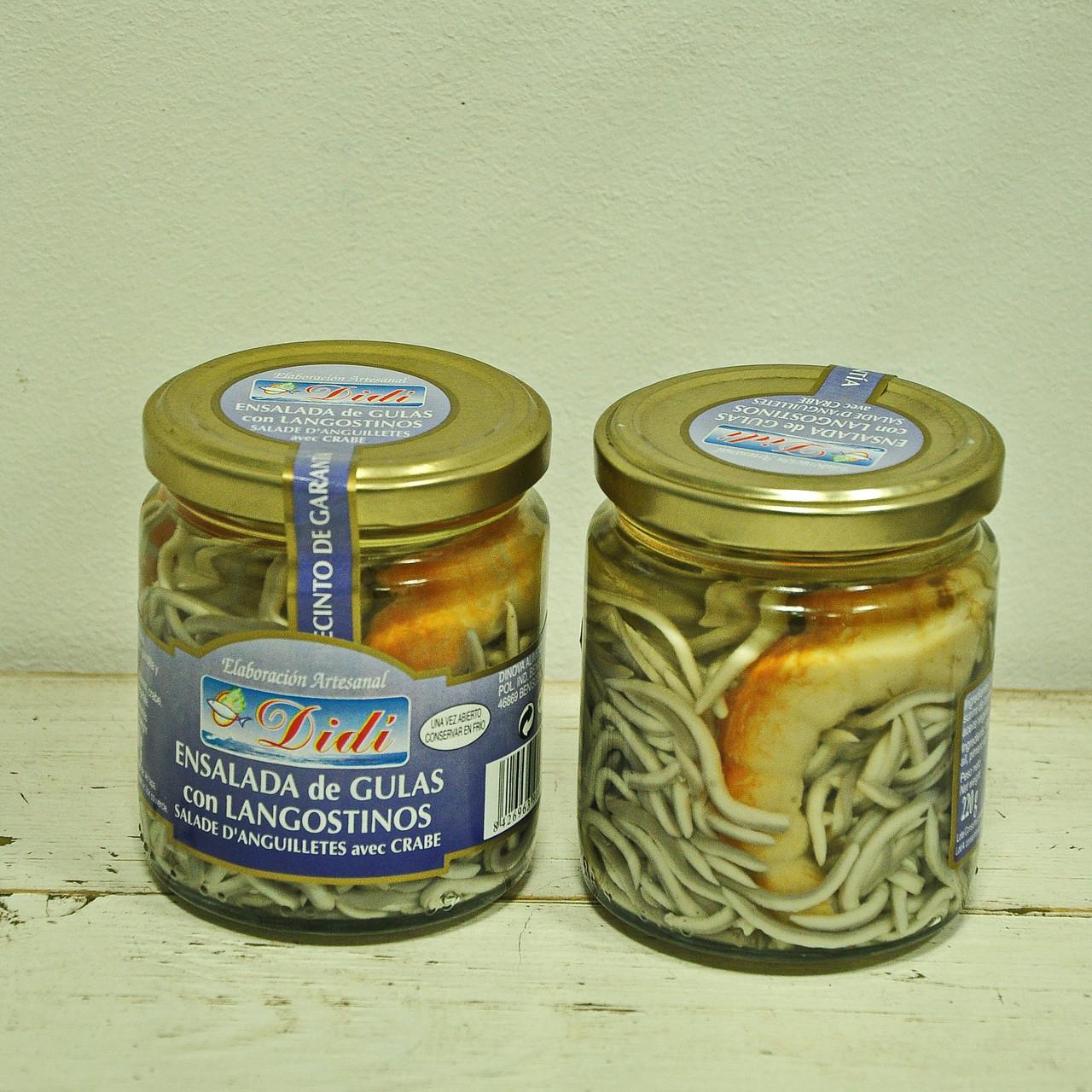Риба голка з криветками Didi