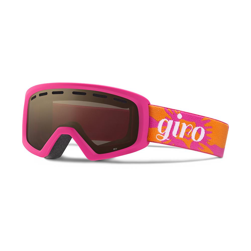 Горнолыжная маска Giro Rev Magenta/Flame Flowers, Amber Rose 40% (GT)