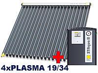 Paradigma-4xPLASMA 19/34, 11-13 человек.Покатая крыша, битумная черепица