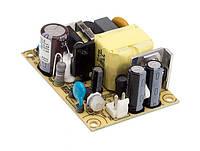 Блок живлення Mean Well EPS-15-24 Відкритого типу 15 Вт; 24; 0,625 А (AC/DC Перетворювач)