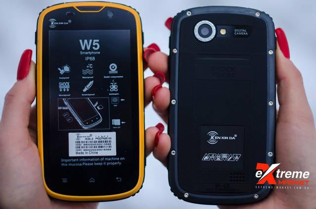 Противоударный телефон Kenxinda W5 | Фотообзор 1