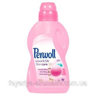 Средство для деликатной стирки Perwoll 3D уход для шерсти и шелка 1л