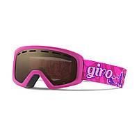 Горнолыжная маска Giro Rev Berry/мадж. Butterflies, Amber Rose 40% (GT)