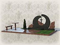 Мемориальный комплекс из гранита П - ЭМК 27