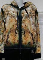 Велюровый женский турецкий спортивный костюм, больш. разм 50,52,54,56,58 , 3 расцветки, фото 1