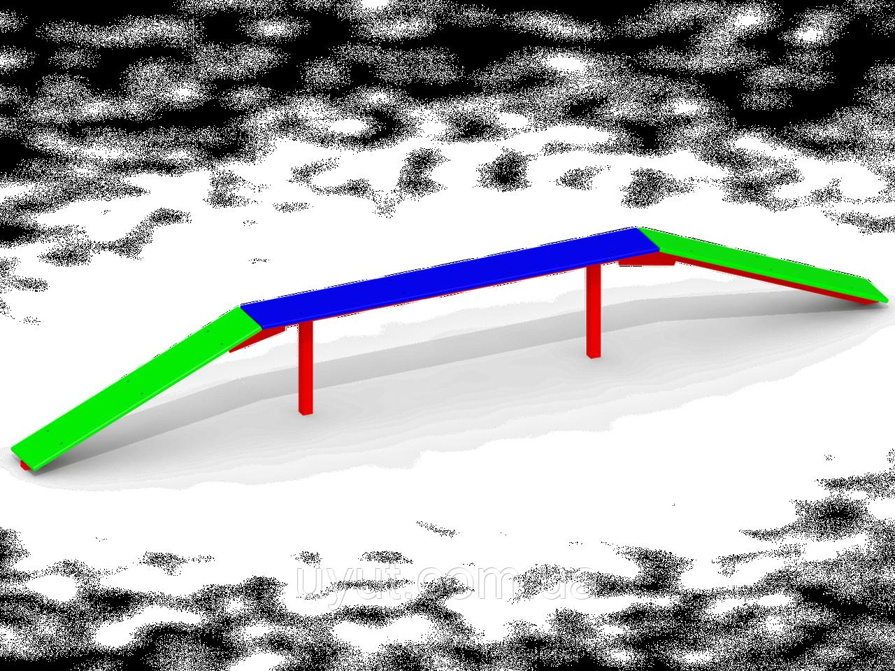 Бревно гимнастическое C71