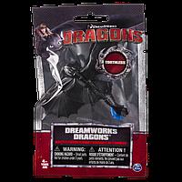 Как приручить дракона: коллекционная фигурка Беззубика с синим хвостом (Уценка)