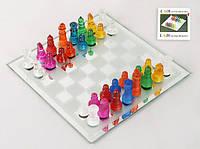 "Шахматы цветные ""Bright"", 20х20см"