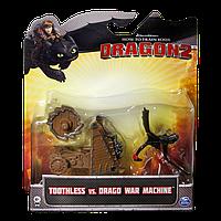 Дракон Беззубик с боевой машиной Драго (Уценка)