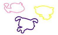 Силиконовые резинки Littlest Pet Shop (Уценка)