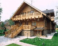 Строительство деревянных коттеджей из бруса