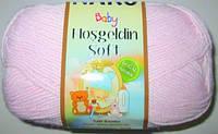 Пряжа Nako Baby Hosgeldin софт, нежно-розовая