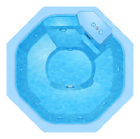 Композитный бассейн БАДЕН