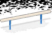 Бревно деревянное C76