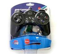 Джойстик, game pad DL-803D(BLACK) комплект 2штуки, USB, Dellta Life