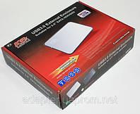 """Внешний карман AgeStar 3UB2A8, USB3.0, для 2.5"""" SATA ЖДД, серебристый"""