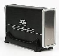 """Внешний карман Agestar 3UB3AH USB3.0, для 3.5"""" SATA ЖДД вентилятор 8см"""