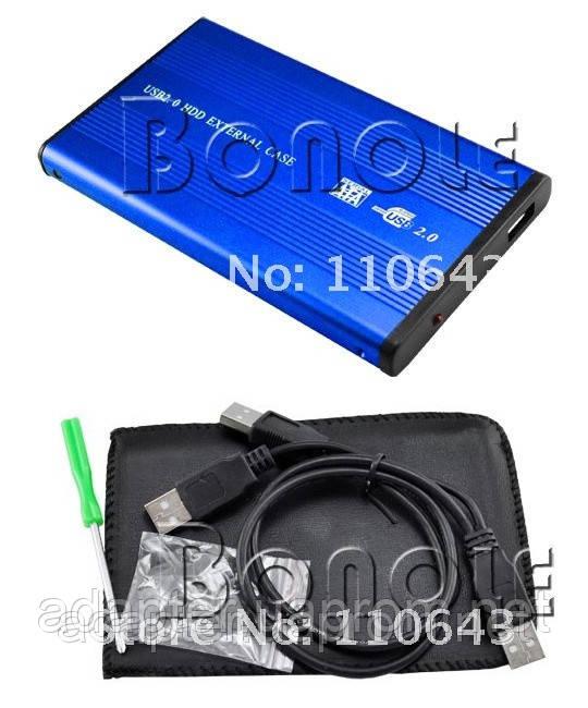 "Внешний карман Mobil Rack 2,5""; SATA; USB 2.0 - Интернет-магазин ""Адаптер"" в Мариуполе"