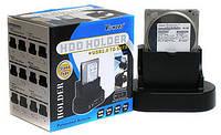 "Док-станция для HDD Viewcon VE462, SATA 2,5""/3,5""  USB 2.0, пластиковы"