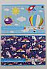 Набор цветной бумаги Fluo, В5, самоклеющейся, 8 цветов, ТМ INTERDRUK, rv0034128