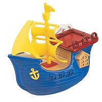Игрушка для ванной комнаты с заводным механизмом «Пиратский корабль» в ассортименте
