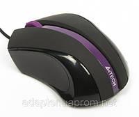 Мышь A4-Q3-310-5 USB; 1000 dpi; 4D; 8in1; черный + фиолетовый
