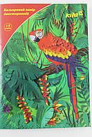 Бумага цветная, двухсторонняя, 15цветов, А4, ТМ Kite, rv0038676