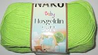 Пряжа Nako Baby Hosgeldin софт, салатовая