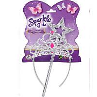 Набор из волшебной палочки и диадемы для девочки