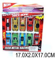 Набор металлических машин, 10 машинок, XL860 1118301