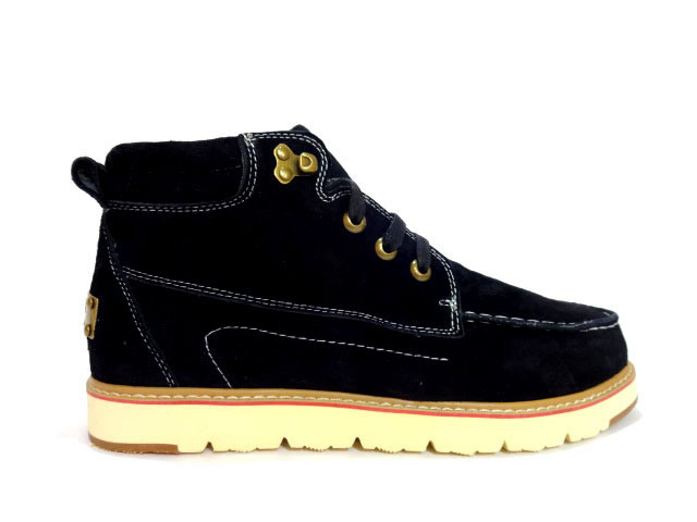 47ae4b723 Купить зимние Мужские ботинки в Украине замшевые на меху черные, UGG ...