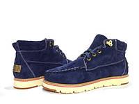 Ботинки мужские зима-весна синие UGG David Beckham Boots Blue, фото 1