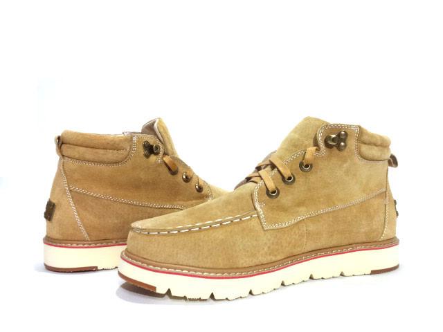 Чоловічі черевики жовті UGG David Beckham Boots Yellow
