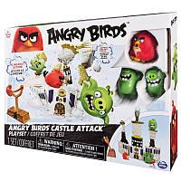 Angry Birds: средний игровой набор «Нападение на замок Короля Свиней»
