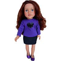 Большая кукла 46 см Лили с длинными волосами