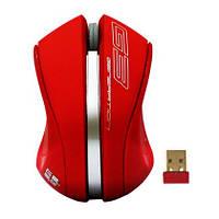 Мышь G-Cube G9V-310R V-Track, 2000dpi, радио 15м 2,4 ГГц, красная