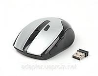 Мышь Maxxtro Mr-315 s беспроводная; 10м; USB; 800/1000dpi; серебристая