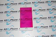 Стекло корпуса для мобильного телефона Apple iPhone 7 с рамкой белое