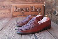 Мужские кожаные мокасины Shoes Fashion for Man, 27.5 см, 42.5 размер. Код: 112.