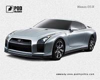 Коврик для мышки Pod Mishkou  Nissan GT-R