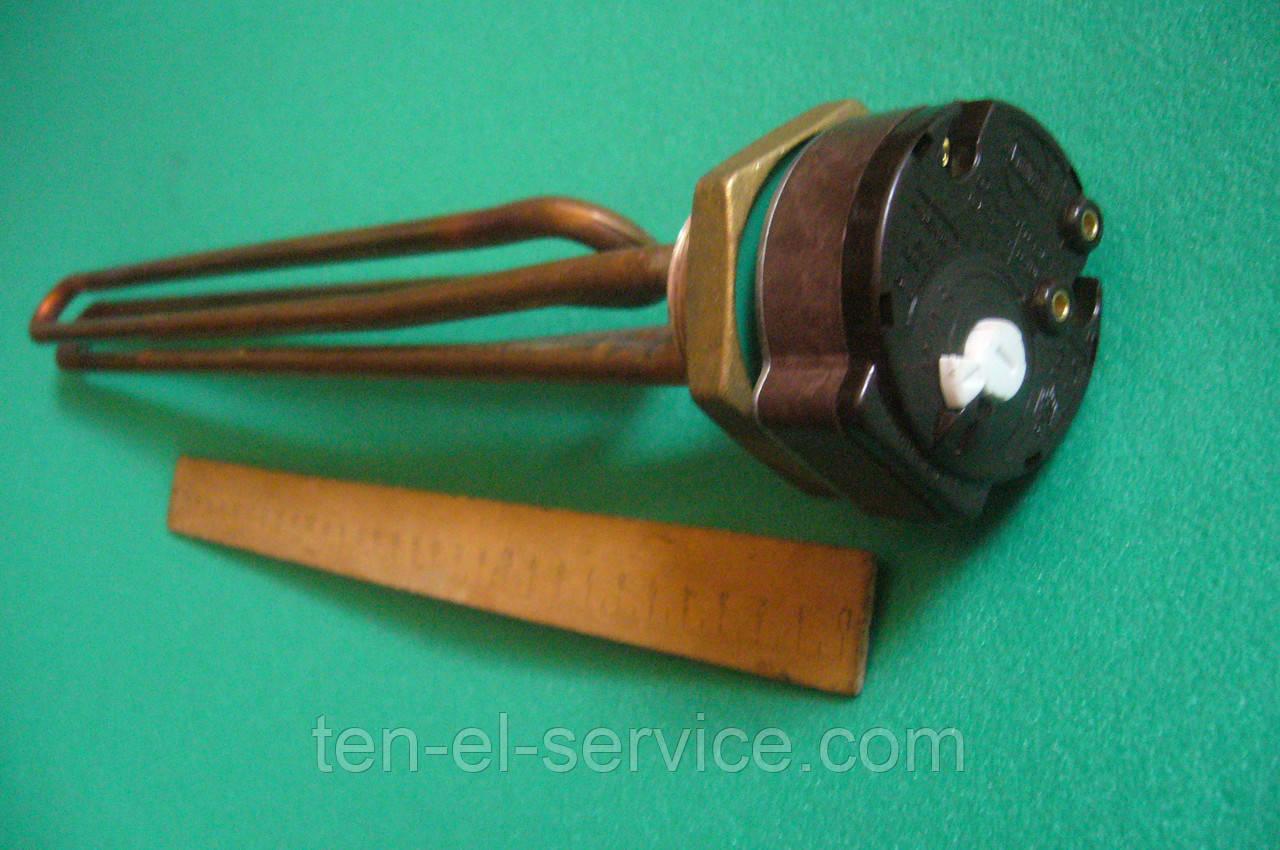 Тэн Thermowatt 4,0 кВт+RTS-20A резьба 1¼, медь