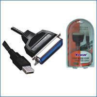 Конвертер VEN12 USB to LPT