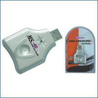 Кардридер VE321 MS/SD/MMC, USB 2.0, VE242