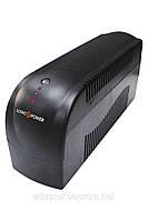 ИБП LogicPower 500VA-P, 2 евророзетки, 5 ступ. AVR, 7.5Ач12В. plastic