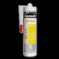 Герметик силиконовый нейтральный Ceresit CS 16 (прозрачный), 280 мл