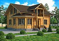 Строительство деревянных коттеджей из клееного бруса