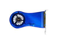 Вентилятор Deepcool XFAN5 в PCI слот 65х12мм HB 2500 об/мин 19дБ синий