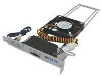Кулер TTC-SC03TZ с регулятором скорости и возм перемещения вентилятора